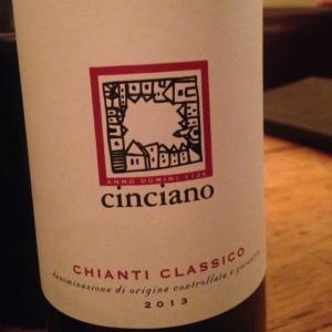 Italie - Chianti Classico - Fattoria di Cinciano - 2013