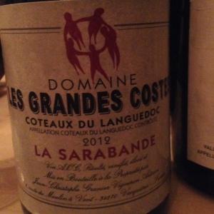 Languedoc - Côtes du Languedoc - Domaine Les Grandes Costes - La Sarabande - 2012