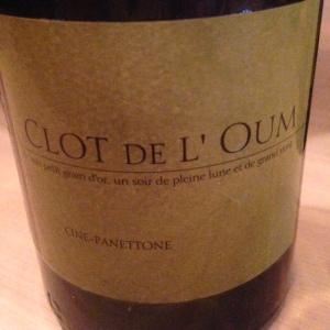 Roussillon - Côtes du Roussillon Villages - Clot de L'Oum - Cine-Panettone - 2014
