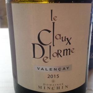 Vallée de la Loire - Valençay - Domaine Minchin - le Claux Delorme - 2015