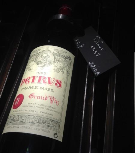 Petit vin pour une soirée à la maison...