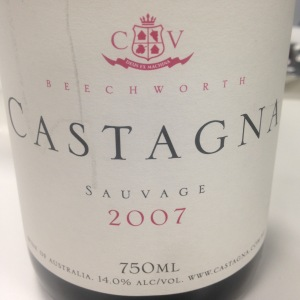 australie-sud-est-beechworth-castagna-estate-sauvage-2007