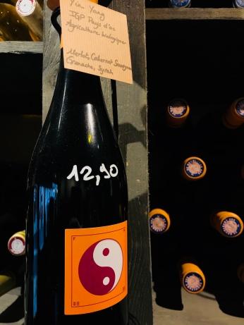 Honfleur - Chez D.D. - Cave à vins - Yin yang