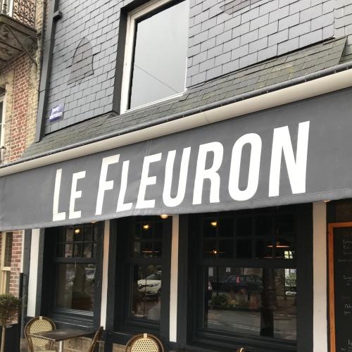 Honfleur - Restaurant - Le Fleuron - Devanture