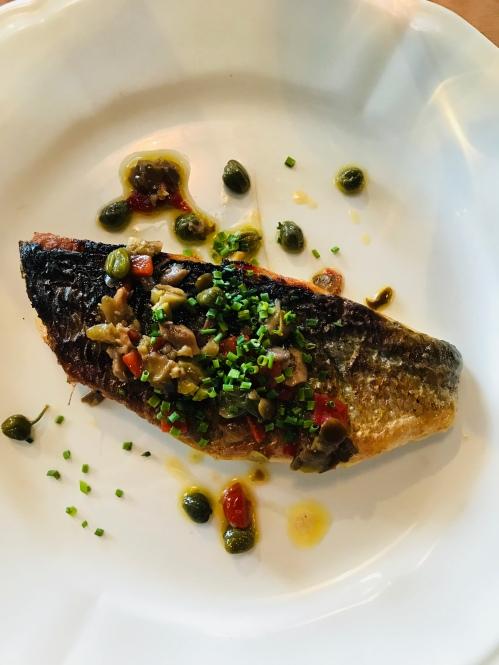 Honfleur - Restaurant - Le Fleuron - Filet de Daurade