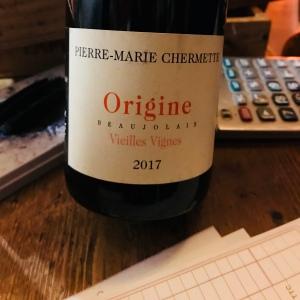 beaujolais - beaujolais - pierre-marie chermette - vieilles vignes - rouge - 2017